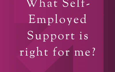 Self-Employed Support March 2020
